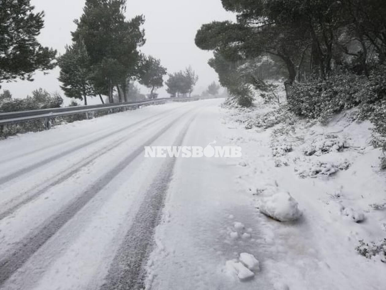 Η «Χιόνη» πλήττει την Ελλάδα: Πού θα πέσει πολύ χιόνι και πού θα πνέουν θυελλώδεις άνεμοι (ΧΑΡΤΕΣ)