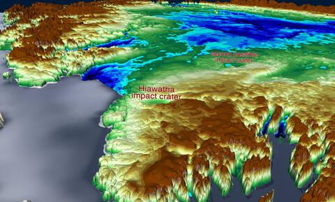 Σπουδαία ανακάλυψη της NASA: Τι κρύβεται κάτω από τους πάγους της Γροιλανδίας