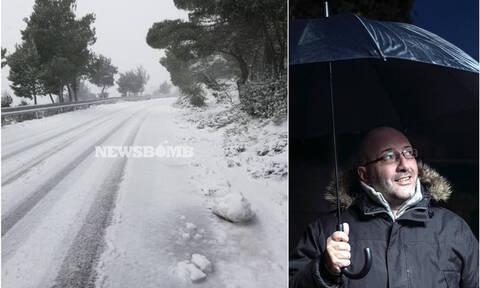 Καιρός: Πού θα χιονίσει τις επόμενες ώρες; Προειδοποίηση του Σάκη Αρναούτογλου (video)