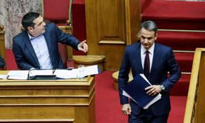 Συνταγματική αναθεώρηση: Σφοδρή πολιτική αντιπαράθεση Τσίπρα - Μητσοτάκη στη Βουλή (vids)