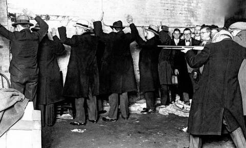 Σαν σήμερα το 1929 η Σφαγή της Εορτής του Αγίου Βαλεντίνου