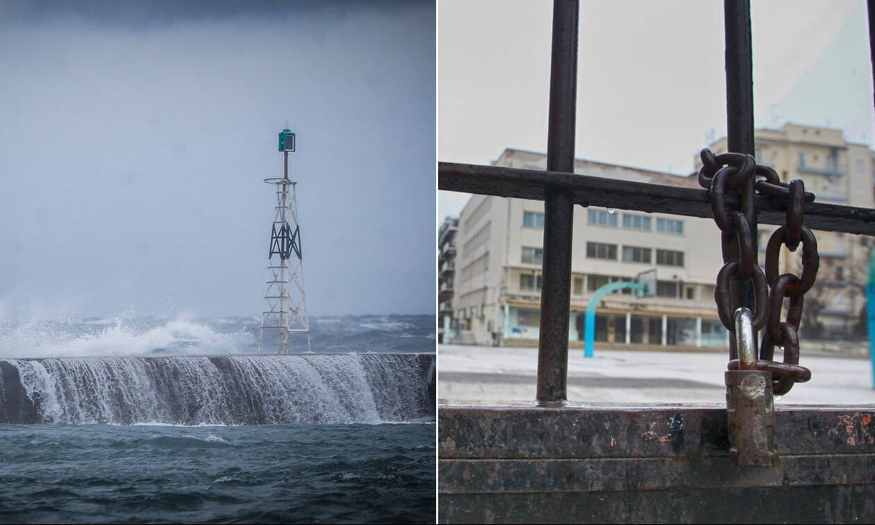 Κακοκαιρία «Χιόνη»: Σε ποια λιμάνια είναι «δεμένα» τα πλοία - Πού είναι κλειστά τα σχολεία