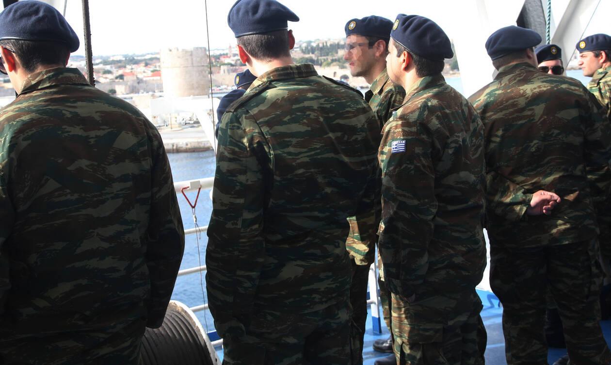 Τροχαίο με δύο στρατιωτικούς στη Χίο