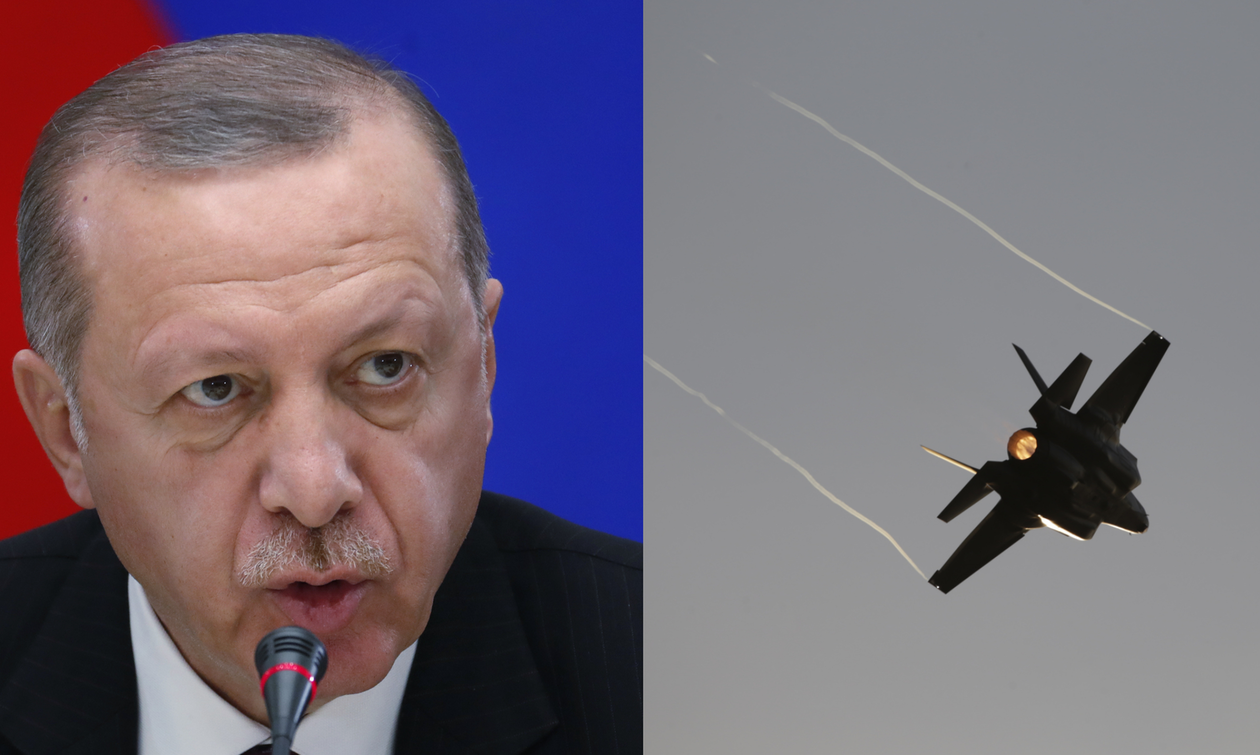 Οι ΗΠΑ δένουν… χειροπόδαρα τον Ερντογάν: «Σταμάτα την αγορά των S-400, αλλιώς ξέχνα τα F-35»
