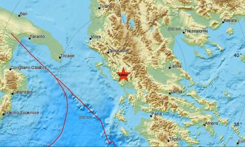 В Яннина произошло землетрясение 3,7 балла
