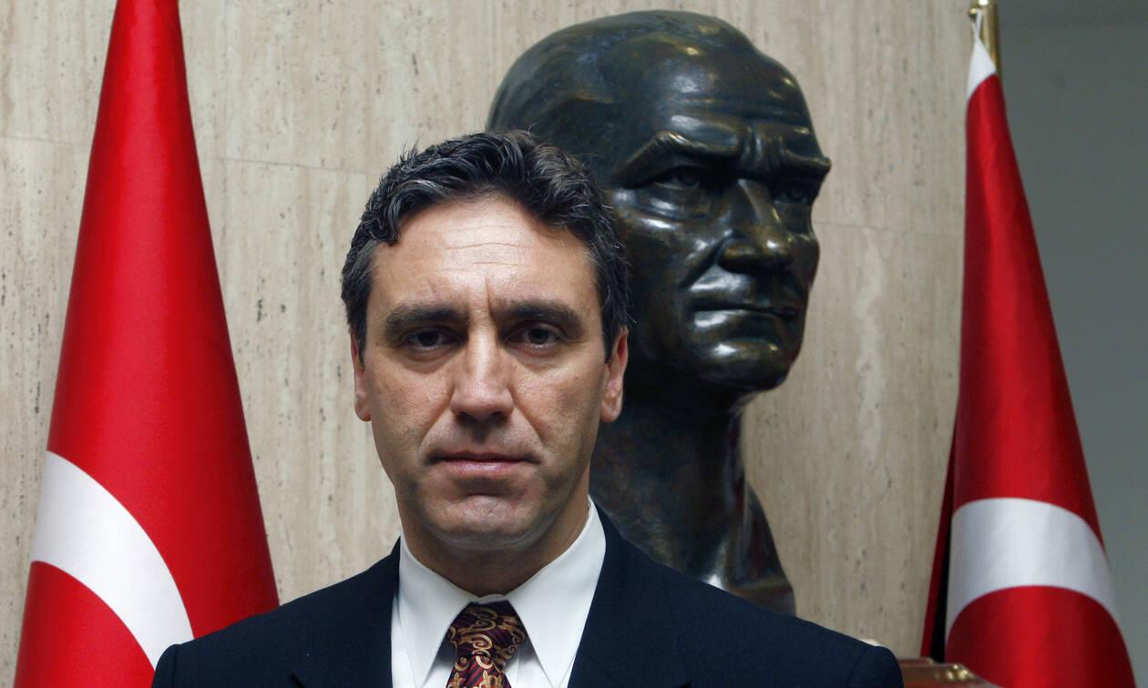 Προκαλεί ο Τούρκος πρέσβης στην Αθήνα: «Η Ελλάδα να εκδώσει εδώ και τώρα τους οκτώ πραξικοπηματίες»