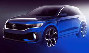 VW T-Roc: Aυτό είναι το teaser σκίτσο της κορυφαίας έκδοσής του R των 300 ίππων