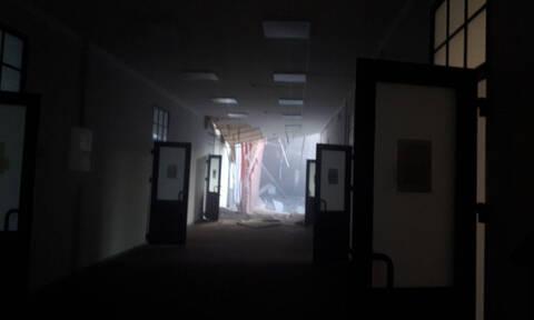 Συγκλονιστικό βίντεο: Καρέ - καρέ η στιγμή της κατάρρευσης στο πανεπιστήμιο της Αγίας Πετρούπολης
