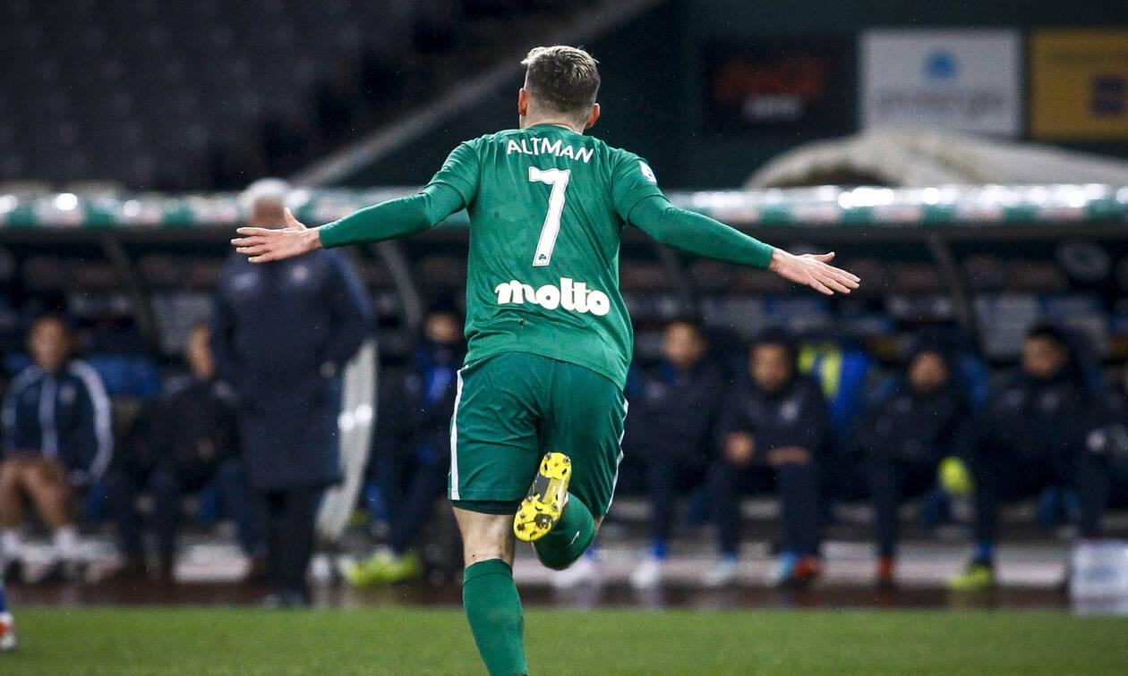 Παναθηναϊκός-Αστέρας Τρίπολης 1-0: «Καθάρισε» ο Άλτμαν