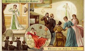 Σοκάρουν οι ετικέτες από σοκολάτες του 1900 που προβλέπουν ΞΕΚΑΘΑΡΑ το μέλλον! (pics)
