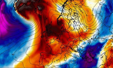Καιρός: Χιονιά Αττικής και ανατολικής Ελλάδας «δείχνει» η νέα ψυχρή εισβολή. Πότε έρχεται! (Photos)