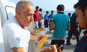 Συγκίνηση και ανθρωπιά: Το αντίο του Γιούνκερ στον φούρναρη της Κω
