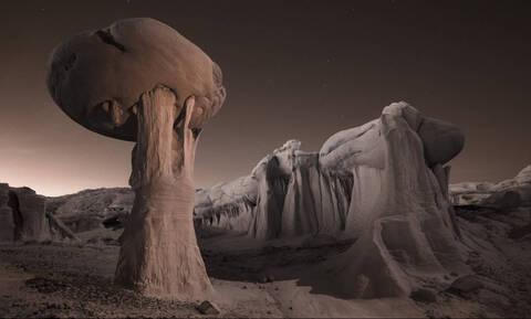 «Βρισκόμαστε σίγουρα στον πλανήτη Γη;»: Τα απόκοσμα τοπία που θα μπέρδευαν ακόμη και εξωγήινο