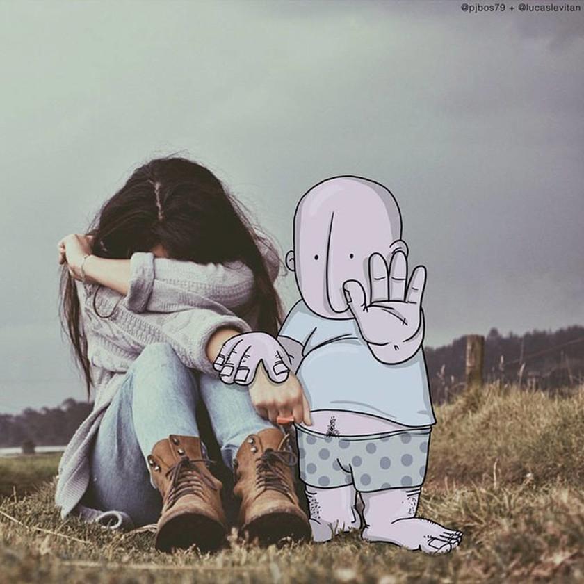 Κάνοντας τέχνη «τρολλάρoντας» το Instagram (Pics)