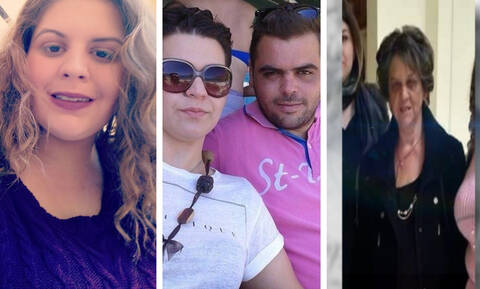 Δραματικές ώρες στην Κρήτη: Αυτή είναι η οικογένεια που αγνοείται - Σβήνουν οι ελπίδες (pics+vid)