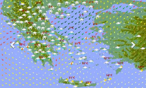 Καιρός: Ψυχρή εισβολή και χιόνια βλέπει και η ΕΜΥ από τo Σάββατο! Οι πρώτες εικόνες (photos)