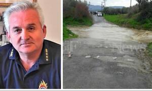 Διοικητής Πυροσβεστικής Κρήτης στο Newsbomb.gr: Το ποτάμι έχει 9 μέτρα βάθος - Επιστρατεύονται δύτες