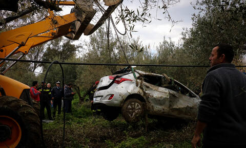 Four people swept away by Geropotamos River found dead