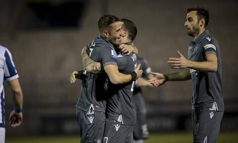 Απόλλων Σμύρνης-ΠΑΟΚ 1-5: Πέρασε από τη Ριζούπολη και βλέπει Πρωτάθλημα