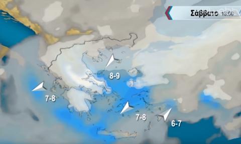 Καιρός: Χιόνια μέχρι τη θάλασσα το Σάββατο... Η ανάλυση του Σάκη Αρναούτογλου (video)