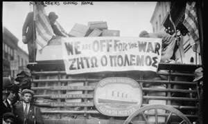 Όταν οι Ελληνες της Νέας Υόρκης γέμιζαν τα πλοία το 1912 για να πολεμήσουν για τη Μακεδονία