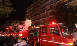 Φωτιά στην Αθήνα: Στις φλόγες διαμέρισμα στην Κυψέλη - Στο νοσοκομείο δύο άτομα