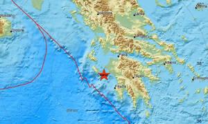 Σεισμός μεταξύ Ζακύνθου και Ηλείας (pics)