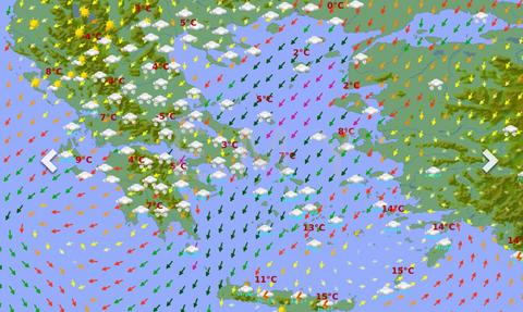 Καιρός: Σαββατοκύριακο σφοδρών χιονοπτώσεων ακόμα και μέσα στην Αθήνα. Οι χάρτες της ΕΜΥ (photos)