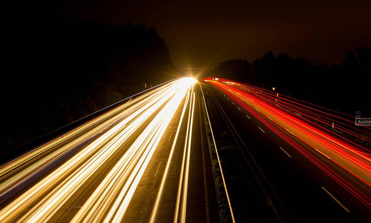 Το απόλυτο χάος στην Εθνική Οδό με ΑΥΤΟ που έκανε οδηγός! (pics)