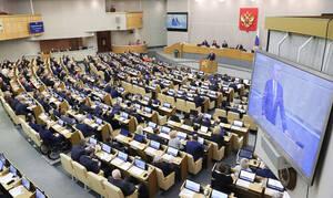 Госдума приняла почти все законы для реализации прошлогоднего послания президента