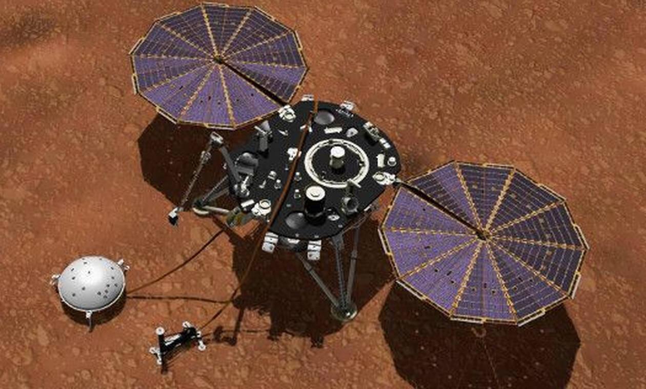 Ασύλληπτο: Δείτε τι θερμοκρασίες κατέγραψε ο μετεωρολογικός σταθμός στον Άρη (pics)