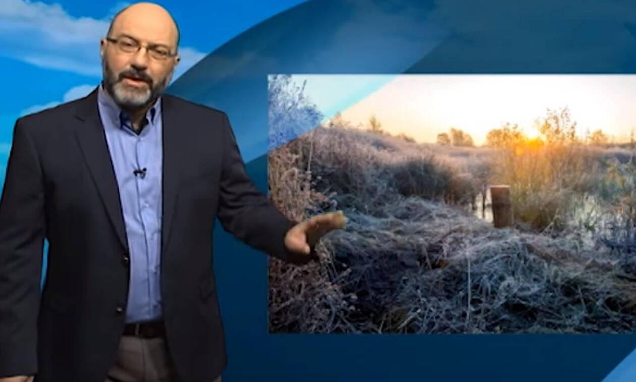 Καιρός: «Προσοχή»: Η προειδοποίηση του Σάκη Αρναούτογλου για τον χιονιά και τις μετακινήσεις...