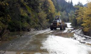 Ρέθυμνο: Παραμένουν τα προβλήματα από την πρόσφατη κακοκαιρία - Κλειστοί δρόμοι και πτώσεις βράχων