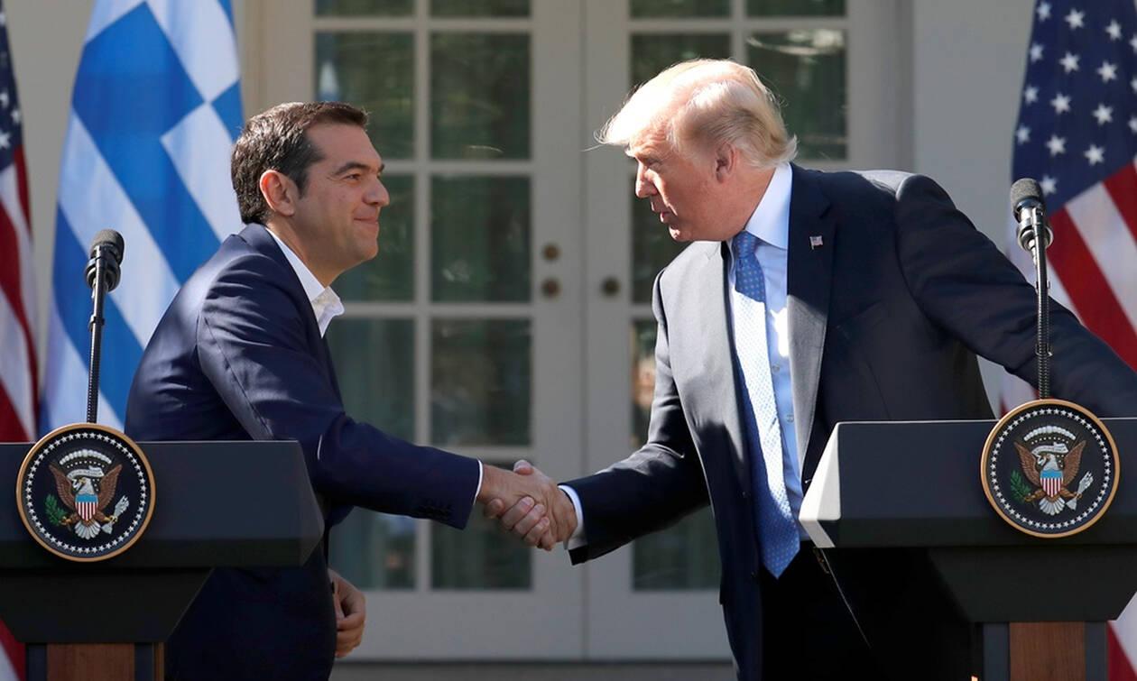 Συγχαρητήρια Τραμπ και στον Τσίπρα για τη Συμφωνία των Πρεσπών: Απέδειξες το θάρρος σου
