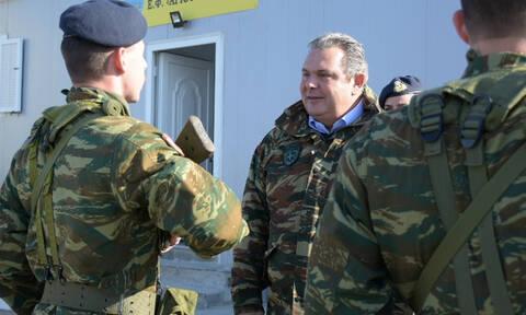 Καμμένος: «Αν μπουν τα τεθωρακισμένα, τα Σκόπια είναι υπόθεση 20 λεπτών»