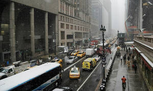 Σφοδρή κακοκαιρία πλήττει τις ΗΠΑ: Ακυρώθηκαν εκατοντάδες πτήσεις (vid)
