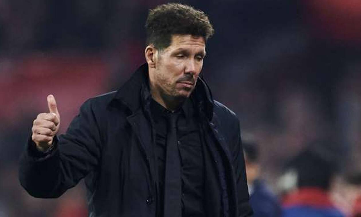 Ατλέτικο Μαδρίτης: Τρελάθηκε ο Σιμεόνε με το 2-0 και έδειξε τα... γεννητικά του όργανα! (pics)