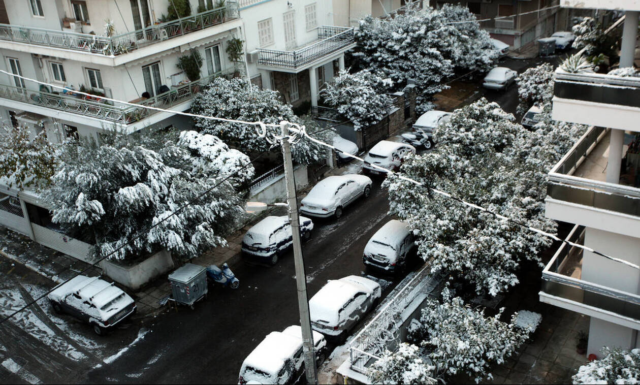 """New cold wave """"Oceanis"""" to sweep over Greece as of Friday evening"""