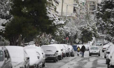 Έκτακτο δελτίο επιδείνωσης καιρού ΕΜΥ: Χιόνια στο κέντρο της Αθήνας - Πού θα χτυπήσει ο «χιονιάς»