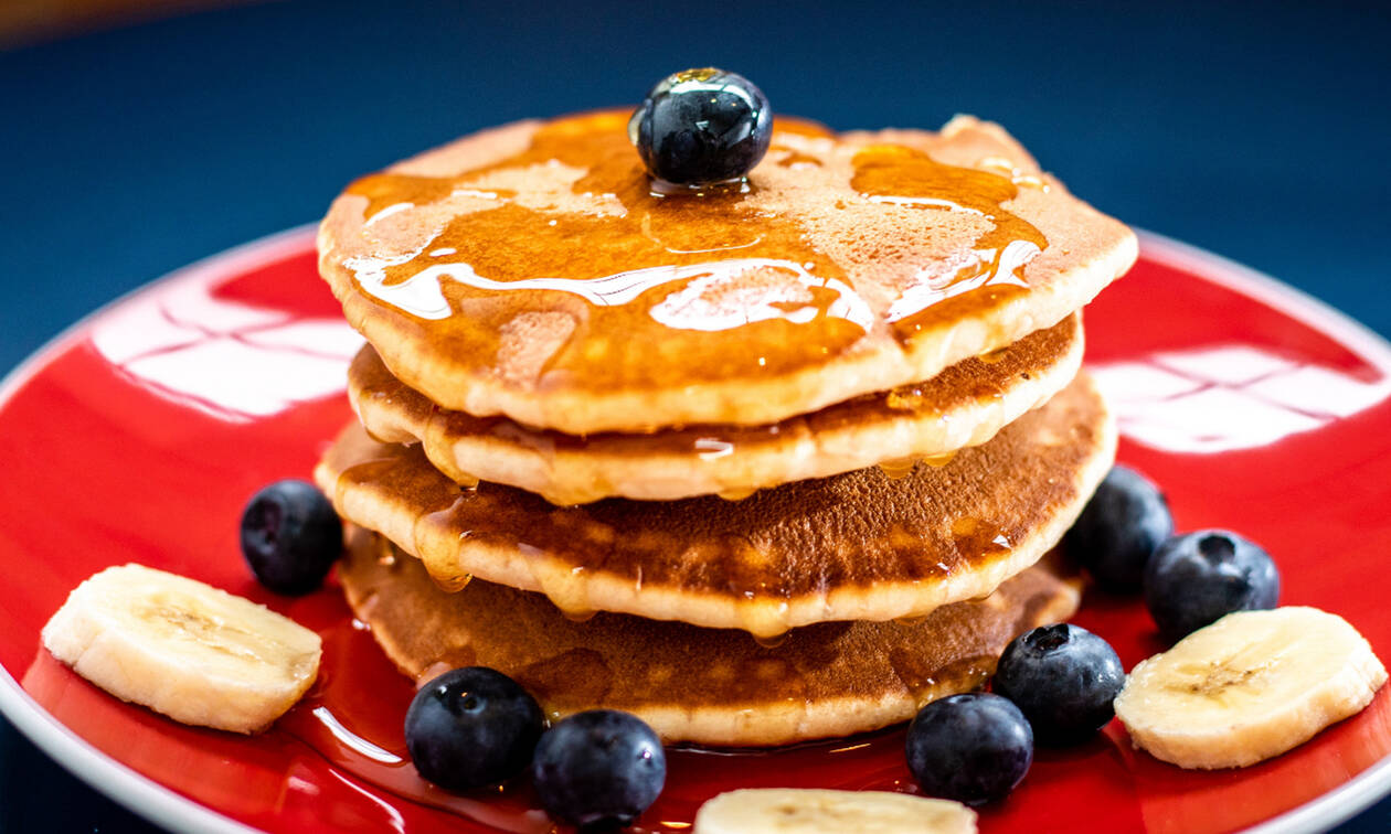 Φτιάξε τα πιο εύκολα pancakes μέσα σε 15'