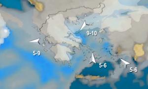 Καιρός: Η εξέλιξη των χιονοπτώσεων πανελλαδικά το επόμενο τριήμερο. Τι λέει ο Σάκης Αρναούτογλου...