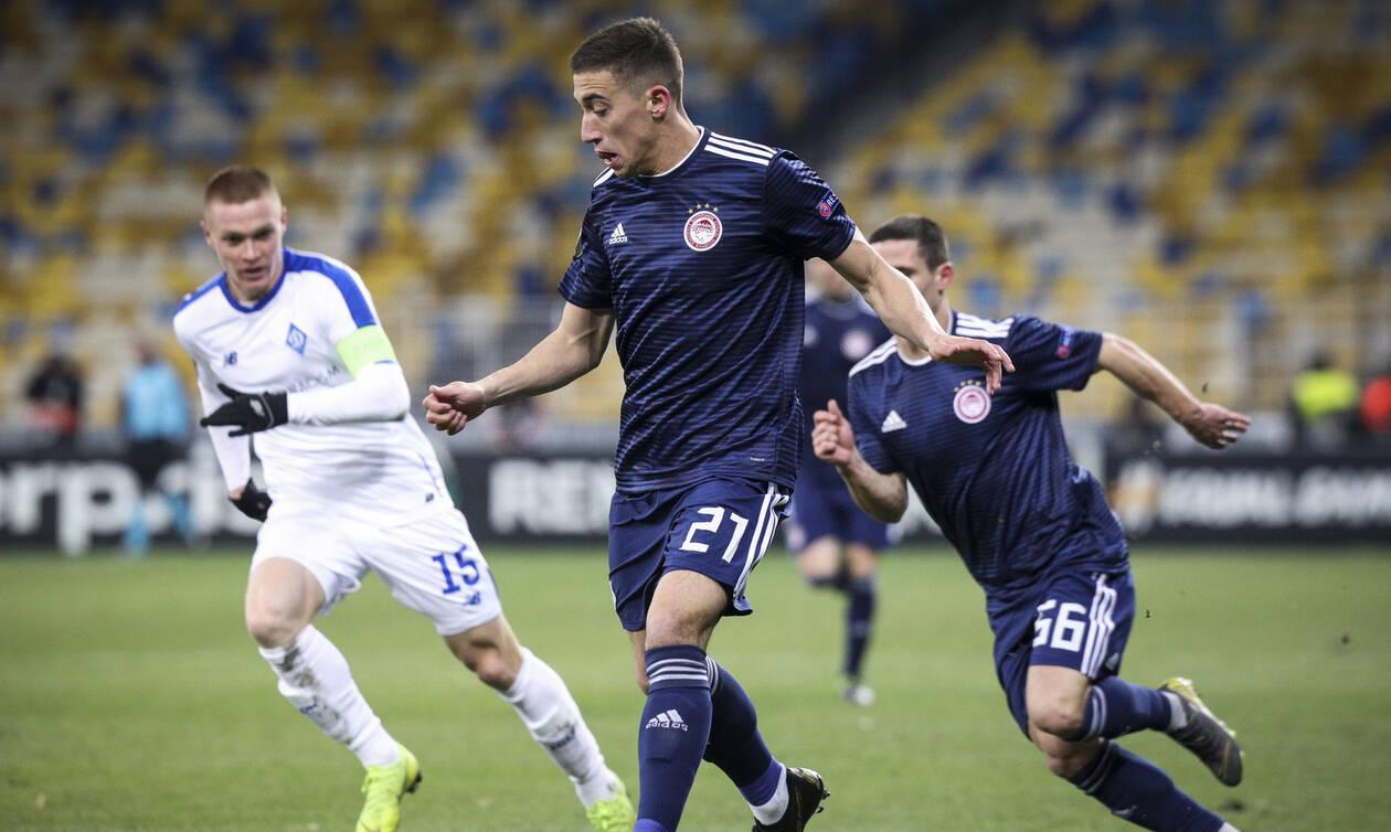 Europa League: Το «ευρωπαϊκό όνειρο» έσβησε στο Κίεβο για τον Ολυμπιακό