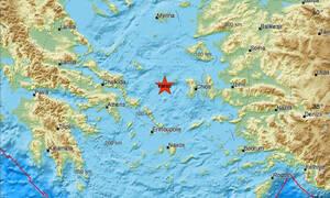 Σεισμός ΤΩΡΑ κοντά στα Ψαρά (pics)