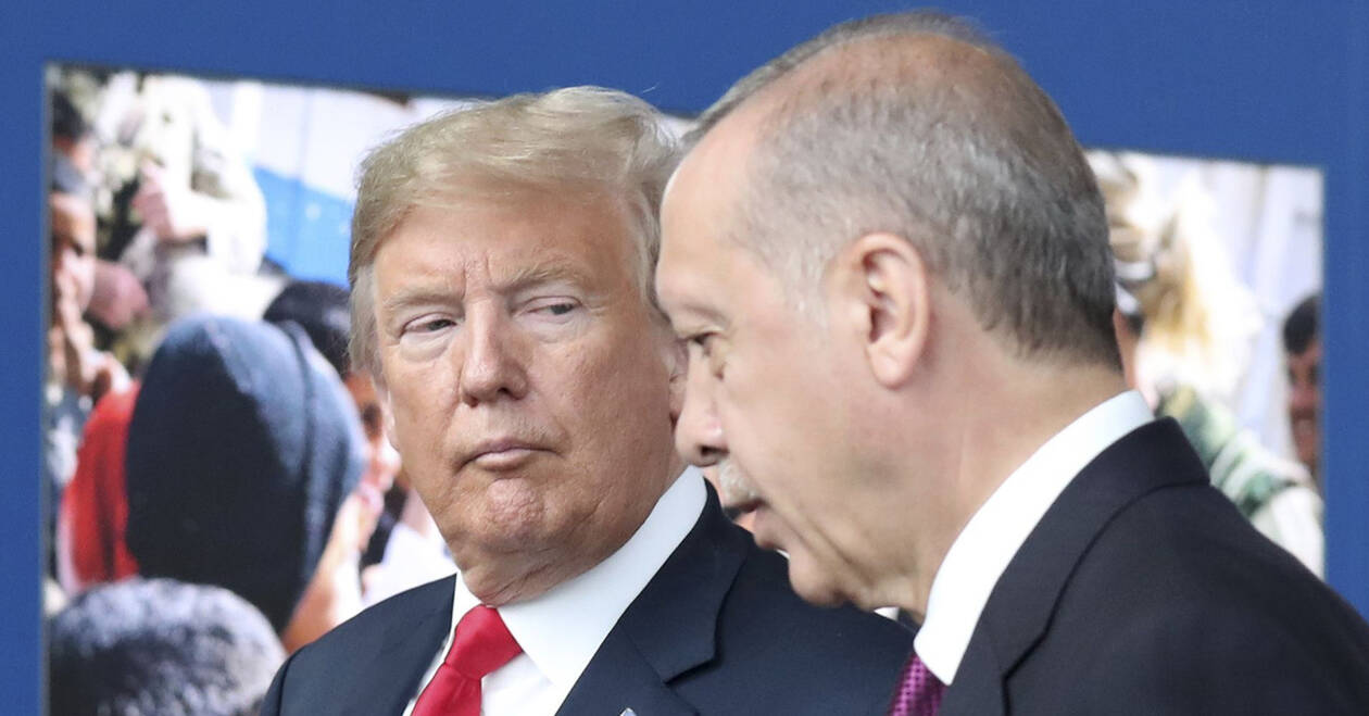 Έκτακτη τηλεφωνική επικοινωνία Ερντογάν - Τραμπ