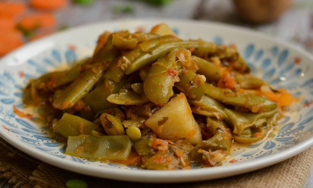 Η συνταγή της ημέρας: Φασολάκια λαδερά