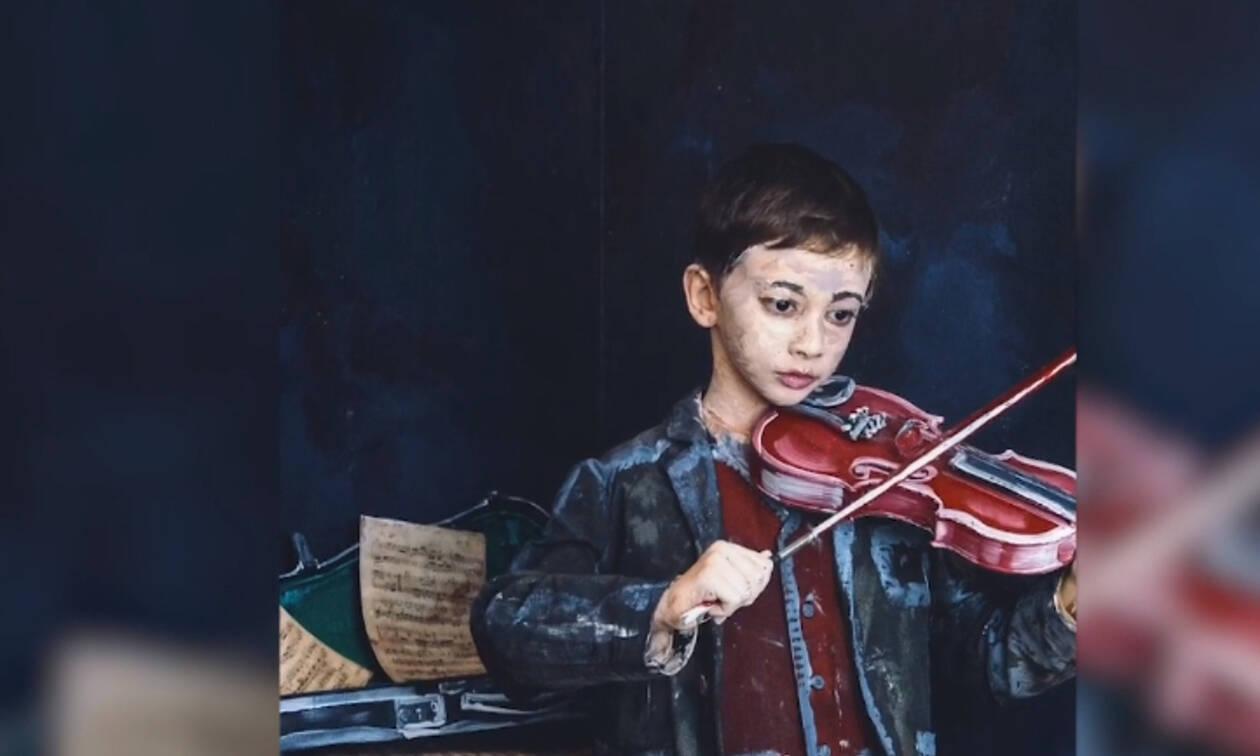 Ταλαντούχα 12χρονη κερδίζει 40.000 δολάρια ετησίως από τους πίνακές της! (vid)