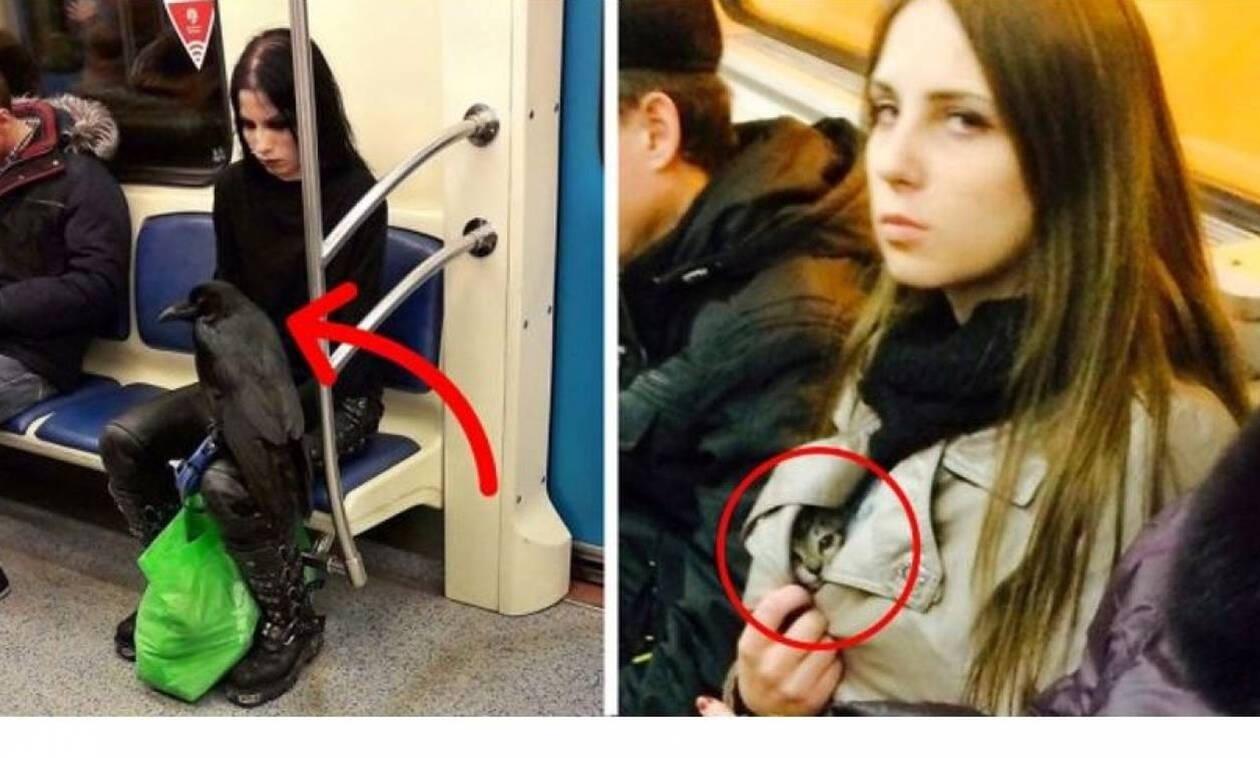 Ζουν ανάμεσά μας: Είναι αυτοί οι πιο αλλόκοτοι άνθρωποι που έχεις δει ποτέ στο μετρό; (Pics)