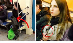 Ζουν ανάμεσα μας: Είναι αυτοί οι πιο αλλόκοτοι άνθρωποι που έχεις δει ποτέ στο μετρό; (Pics)
