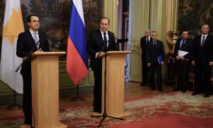 В Москве завершились переговоры Никоса Христодулидиса и Сергея Лаврова
