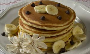 Η συνταγή της ημέρας: Banana Pancakes